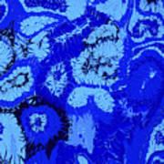 Liquid Blue Dream - V1vhkf100 Art Print