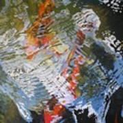 Liquid Gold 2 Art Print