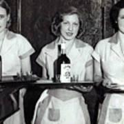 Liquor Is Served - Prohibition Ends 1933 Art Print