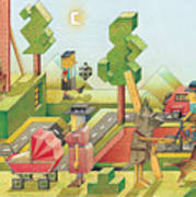 Lisas Journey08 Art Print