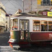 Lisbon Tram, Portugal Art Print