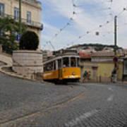 Lisbon Trolley 10 Art Print