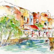 L'isle Sur La Sorgue Art Print