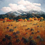Listening To Mountains Art Print