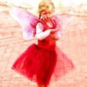 Little Angel Wings Art Print