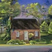 Little Brick House  Art Print
