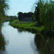 Little Brosna River Riverstown Ireland Art Print