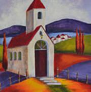 Little Chapel 1 Art Print