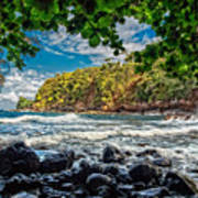 Little Cove On Hawaii' Art Print