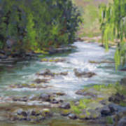 Little Creek Art Print