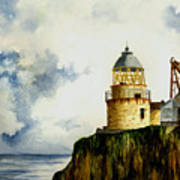 Little Cumbrae Lighthouse Art Print