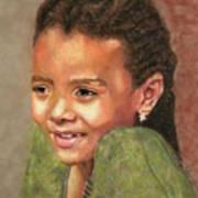 Little Evie Art Print