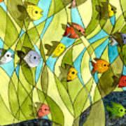 Little Fish Big Pond Art Print