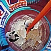 Little Glass Pandas 62 Art Print