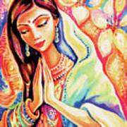 Little Himalayan Pray Art Print