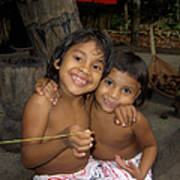 Little Indians  Amazon Art Print