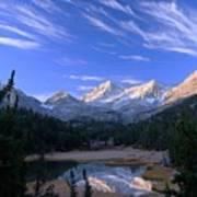 Little Lakes Valley Panorama Art Print