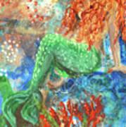 Little Mermaid Art Print by Jennifer Kelly