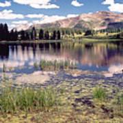 Little Molas Lake Colorado Art Print