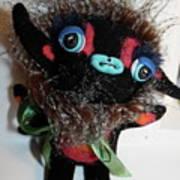 Little Monster Print by Kathleen Raven