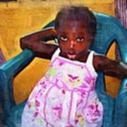 Little Orphan Girl Art Print