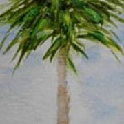 Little Palm Tree Art Print
