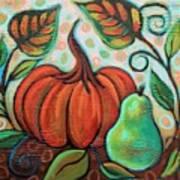 Little Pumpkin 2 Art Print