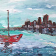Coast Art Print
