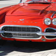 Little Red Corvette Art Print
