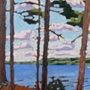 Little Rideau Lake Art Print