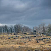 Little Round Top Art Print