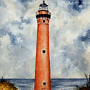 Little Sable Point Lighthouse Art Print