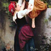 Little Thieves 1872 Art Print