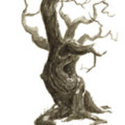 Little Tree 78 Art Print