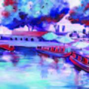 Little Venice In Notinghillgate London Art Print