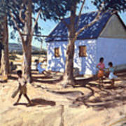 Little White House Karoo South Africa Art Print