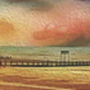 Littlehampton Beach Art Print
