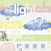 Light Of Mine Art Print