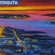 Live Eye Over Dartmouth Ns Art Print