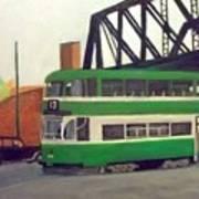 Liverpool Tram 1953 Art Print