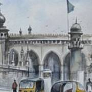 Living Legend Mecca Mazjid Art Print