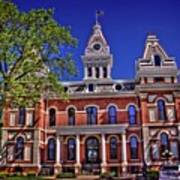 Livingston County Courthouse 1 Art Print