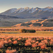 Livingston Montana Art Print
