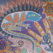 Lizard Dreaming Art Print