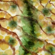Lizard Skin Abstract Art Print