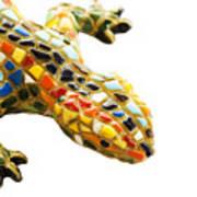 Lizard Souvenir By Antony Gaudi Print by Soultana Koleska