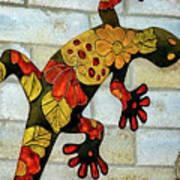 Lizard Wall Art Art Print