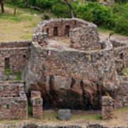 Llactapata Ruins Art Print