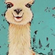 Llama Sid Art Print