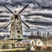 Llancayo Mill Usk 3 Art Print